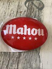 Mahou Beer Oval Fish Eye New
