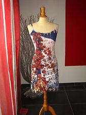 RAVISSANTE ROBE COLORée + BIJOUX DRESS + JEWEL SAVE THE QUEEN T M 36 38 UK 8 10