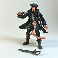 POTC Dead Man's Chest Captain Jack Sparrow Sword, Pistol & Trihat Figure Zizzle