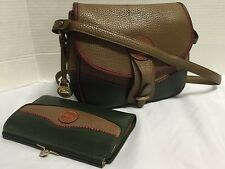 Vintage Dooney & Bourke ALW ~ Teton *Shoulder Bag Handbag Cross Body & Wallet*