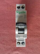 Réf 21014 DISJONCTEUR SCHNEIDER PRODIS DT40 1P+N 32A COURBE B 230V 6kA