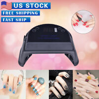 64W Cordless 36 LED Nail Lamp Gel Polish Nail  Dryer Wireless rechargeable USA