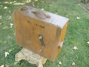 Antique Lifeboat Emergency Rotary Foghorn