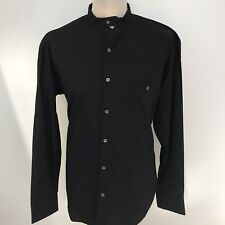 FULL CIRCLE Mens Black Shirt Size Large BNWT