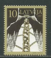 Latvia 1997 Turn of the Epochs--Attractive Art Topical (439) MNH