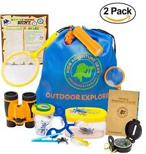 2 PACK Outdoor Adventure Kit for Kids Outdoor Exploration Set - Hiking & Camping