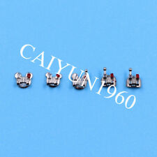 5X Dental Ortho Bracket Brace Mini Roth MIM 022 345 hook mark Mickey base CE&FDA