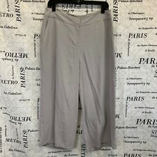 Eileen Fisher Womens Pants Solid Gray Cropped Size S New with Tags