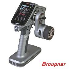 Graupner S1008.H USA X-8E 4 Channel 2.4GHz HoTT Color TFT Surface Radio w/ Case