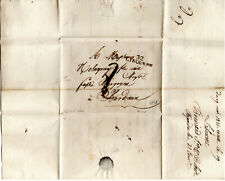 France 1758 Cover 32 Libourne to Bordeaux with content Postal History