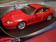 HOT WHEELS FERRARI 575 MM 1/18 NIB RARE