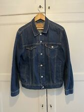 Levi's Men's Medium Denim Jacket Blue Navy Jeans M Trucker