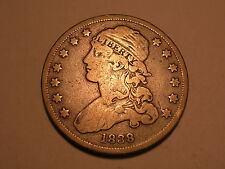 1838 Bust Quarter (Fine & Attractive)