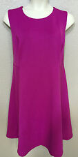 $139 (NWT) Calvin Klein Womens Plus 22W Purple Sleeveless Crew Neck Sheath Dress