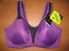 New WACOAL 853209 Contour Underwire Sports Bra Gray Coral Black Purple NWT