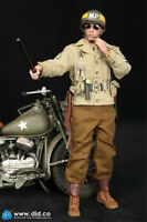 In-Stock 1/6 Scale DID A80116 WWII US 2nd Armored Division MP Military Police