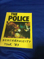 The Police Synchronicity Concert tour book 1983 Every breath you take Sting