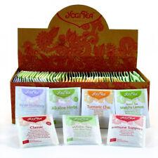 Yogi Tea Herbal organic tea sachets-Sélection Aléatoire Mixtes Pack de 100 sacs