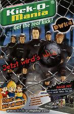 Prospekt Revell Kick-O-Mania 2007 Broschüre Spielzeug Fussball Broschüre brochur