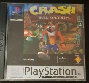 Crash Bandicoot Platinum (Playstation 1, ps1)
