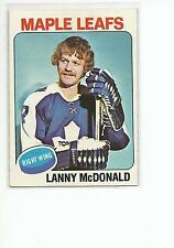 LANNY McDONALD 1975-76 Topps Hockey card #23 Toronto Maple Leafs NR MT