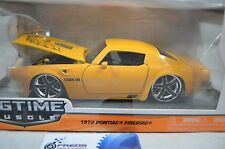 1:24 Jada 1972 Pontiac Firebird Yellow BTM Diecast model