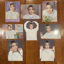BTS Jungkook Sowoozoo Official Photocard Set (8pc) Bangtan Boys 2021 Muster JK