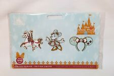 BRAND NEW MINNIE MOUSE MAIN ATTRACTION KING ARTHUR CARROUSEL PIN SET SERIES 7/12