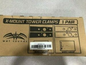 Wet Sounds X-Mount Tower Clamps