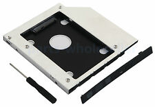 NEW 9.5mm SATA 2nd Hard Drive Disk HDD SSD Caddy Bay For HP Pavilion DM4 Series