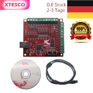 8CNC USB MACH3 100Khz Breakout Board 4 Axis Driver Motion Controller panda #DE#