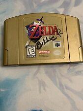 Legend of Zelda: Ocarina of Time (Nintendo 64, 1998) Authentic Gold Ed Tested