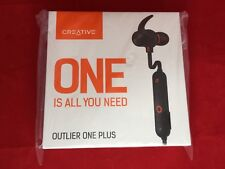 Creative Outlier One Plus Built-in IPX 4 Equivalent Drip Earphones HS-OTLOP4G-BK