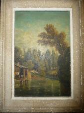 peinture XXème Anna Bayon...; Rare  .. coté ..