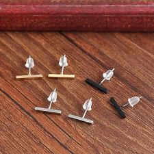 Punk Women Tiny Bar fashionable Earrings Stud Cute Bar Earring Cool Jewelry
