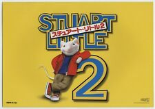 Stuart Little 2 JAPAN PRESS PROGRAM Rob Minkoff, Geena Davis, Hugh Laurie