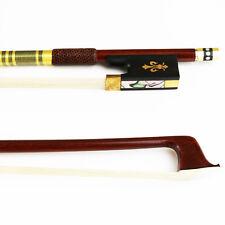 NEW 4/4 Advanced Elegant Pernambuco Violin Bow Warm Tone Natural Horsehair