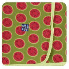 KicKee Pants Lovey GRASSHOPPER WATERMELON security blanket