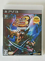 Rare PS3 MONSTER HUNTER PORTABLE 3rd HD Ver Sony PlayStation 3 UK/NTSC EXCELLENT