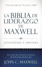 La Biblia de Liderazgo de Maxwell RVR60- Tamaño Manual by John C. Maxwell...