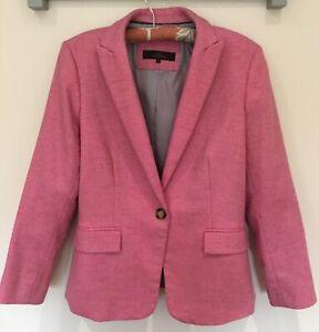 Next Pink Tweed Blazer size 14