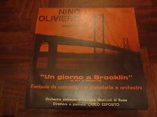 NINO OLIVIERO GIORNO A BROOKLIN Library 1972 LP Killer Jazz Funk NM Signed Hear