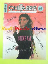 rivista CHITARRE 61/1991 Steve Vai Faith No More R. Murolo Fabio Concato No cd