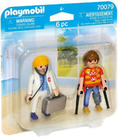 Playmobil City Life Doctor and Patient 70079 (for Kids 4 and up)