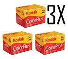 3X Pellicola 35mm Rullino Colore Kodak 200 135-24 foto - film