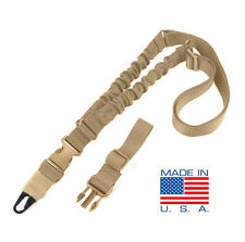 CONDOR ADDER Double Bungee One Point Rifle Sling US1022-003 TAN *Made in USA*