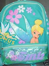 """Disney Back Pack, """"TINKER BELL"""" (Fairy Wings) NEW"""