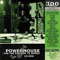 Ensoniq ASR-10, eps16, asrx  Pwr House CD-Rom Vol. 1 Powerhouse hip hop sounds