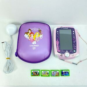 LeapPad 2 early leaning system with Stylus, Charger, Case and 4 games
