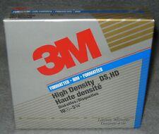 """3M 5,25"""" Disketten 10 Stück 1,2MB original Verschweißt DS HD IBM Formatiert"""
